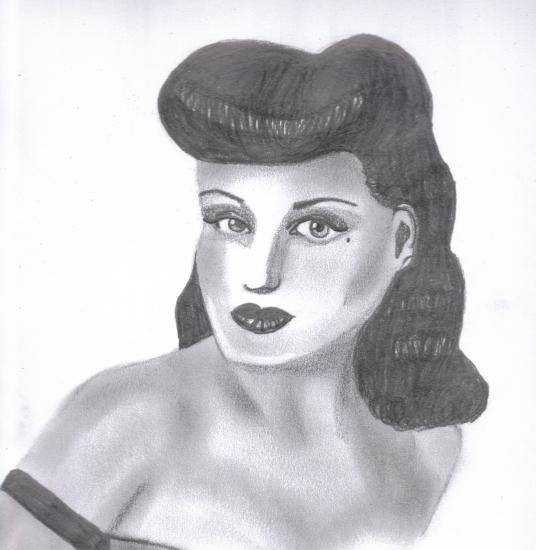 Dita von Teese by Leena